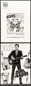 Movie Posters:Elvis Presley, Double Trouble & Other Lot (MGM, 1967). Folded, Fine/Very ...