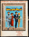 """Movie Posters:Musical, Guys and Dolls (MGM, 1955). Overall: Very Fine-. Deluxe UncutPressbook (Multiple Pages, 15"""" X 20"""") with Cover. Music..."""