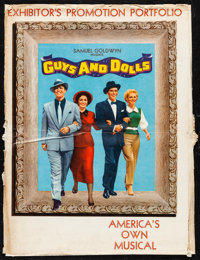 "Guys and Dolls (MGM, 1955). Overall: Very Fine-. Deluxe Uncut Pressbook (Multiple Pages, 15"" X 20"") with Cover..."