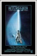 """Movie Posters:Science Fiction, Return of the Jedi (20th Century Fox, 1983). Rolled, Very Fine+.One Sheet (27"""" X 41"""") Style A, Tim Reamer Artwork. S..."""