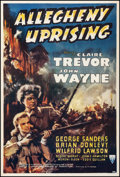 Movie Posters:Action, Allegheny Uprising (RKO, 1939). Fine+ on Linen. Tr...