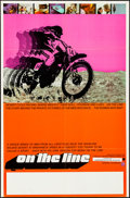 "Movie Posters:Documentary, On the Line & Other Lot (Interwest Film Corporation, 1971). Folded, Overall: Fine/Very Fine. Poster (23"" X 35"") & Trimmed Po... (Total: 2 Items)"