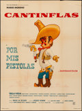"Movie Posters:Foreign, Por Mis Pistolas & Other Lot (Columbia, 1968). Folded, Very Fine-. Mexican One Sheets (2) (26.75"" X 37"" & 27.5"" X 37.5""). Fo... (Total: 2 Items)"