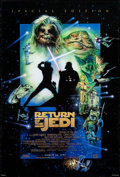 "Movie Posters:Science Fiction, Return of the Jedi & Other Lot (20th Century Fox, R-1997).Rolled, Overall: Very Fine-. One Sheet (26.75"" X 39.75"") &..."
