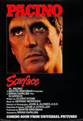 "Movie Posters:Crime, Scarface (Universal, 1983). Rolled, Very Fine-. One Sheet (27"" X 41"") Advance. Crime.. ..."