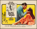 """Movie Posters:Romance, The World of Suzie Wong & Other Lot (Paramount, 1960). Rolledand Folded, Fine/Very Fine. Half Sheets (2) (22"""" X 28"""")..."""