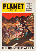 Pulps:Science Fiction, Planet Stories V6#8 Yakima Pedigree (Fiction House, 1954) Condition: VF....
