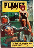 Pulps:Science Fiction, Planet Stories V6#5 Yakima Pedigree (Fiction House, 1954) Condition: VF-....
