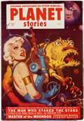 Pulps:Science Fiction, Planet Stories V5#7 Yakima Pedigree (Fiction House, 1952) Condition: VF-....