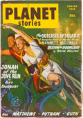 Pulps:Science Fiction, Planet Stories V3#10 Yakima Pedigree (Fiction House, 1948) Condition: VF....