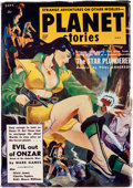 Pulps:Science Fiction, Planet Stories V5#8 Yakima Pedigree (Fiction House, 1952) Condition: FN/VF....