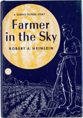 Books:First Editions, Robert A. Heinlein Farmer in the Sky First Edition (Charles Scribner's Sons, 1953)....