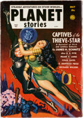 Pulps:Science Fiction, Planet Stories V4#12 Yakima Pedigree (Fiction House, 1951) Condition: VF-....