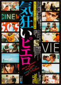 "Movie Posters:Foreign, Pierrot le fou (Cinematografica, R-1983). Rolled, Very Fine-.Japanese B2 (20.25"" X 28.75""). Foreign.. ..."