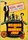 Movie Posters:Musical, The Band Wagon (Filmax, 1955). Folded, Fine/Very Fine....