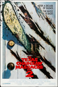 """Movie Posters:Horror, The Texas Chainsaw Massacre Part 2 (Cannon, 1986). Folded,Fine/Very Fine. International One Sheet (27"""" X 40.75"""") SS,..."""