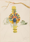 Prints & Multiples:Contemporary, Salvador Dalí (1904-1989). American Clock, from Time, 1976. Photolithograph in colors on Arches paper. 21 x 29-3/4 i...