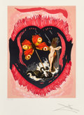 Fine Art - Work on Paper:Print, Salvador Dalí (1904-1989). Le Triomphe, from Triumph of Love, 1977. Lithograph in colors on Arches paper. 29-1/4 x 2...