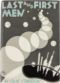 Books:First Editions, W. Olaf Stapledon Last and First Men First American Edition (Jonathan Cape & Harrison Smith, 1931)....