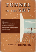 Books:First Editions, Robert A. Heinlein Tunnel in the Sky First Edition (Charles Scribner's Sons, 1955)....