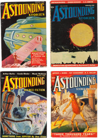 Astounding Stories Group of 12 - Yakima Pedigree (Street & Smith, 1938) Condition: Average VF-.... (Total: 12 Items)