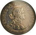 Patterns: , 1870 50C Standard Silver Half Dollar, Judd-952, Pollock-1095, Low R.7, PR60 NGC. The obverse shows a bust of Liberty that f...