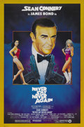 "Movie Posters:James Bond, Never Say Never Again (Warner Brothers, 1983). One Sheet (27"" X41"") and Italian One Sheets (2) (27"" X 39""). Sean Connery re...(Total: 3 Items)"