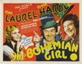"""Movie Posters:Comedy, The Bohemian Girl (MGM, 1936). Title Lobby Card (11"""" X 14""""). Laureland Hardy are gypsies who unknowingly find themselves in..."""