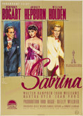 "Movie Posters:Romance, Sabrina (Paramount, 1954). German Poster (23.75"" X 33.5""). AudreyHepburn gave one of the best performances of her career in..."