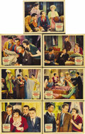"""Movie Posters:Comedy, Three-Cornered Moon (Paramount, 1933). Lobby Cards (7) (11"""" X 14"""").Considered by many to be the first of the 1930s """"screwba... (Total:7 Item)"""