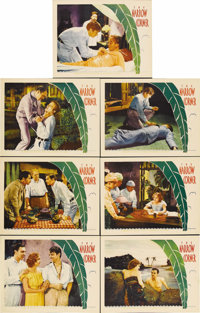 "The Narrow Corner (Warner Brothers, 1933). Lobby Cards (7) (11"" X 14""). This gripping drama stars Douglas Fair..."
