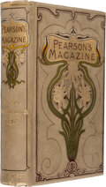 Books:Hardcover, The War of the Worlds Serialized in Pearson's Magazine Bound Volumes Group of 2 (C. Arthur Pearson Ltd., 1897).... (Total: 2 Items)