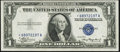 Small Size:Silver Certificates, Fr. 1608* $1 1935A Silver Certificate Star. Choice Crisp Uncirculated.. ...