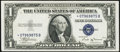 Small Size:Silver Certificates, Fr. 1611* $1 1935B Silver Certificate Star. About Uncirculated.. ...