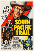 "Movie Posters:Western, South Pacific Trail & Other Lot (Republic, 1952). Flat Folded,Very Fine+. One Sheets (3) (27"" X 41""). Western.. ....."