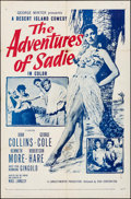 """Movie Posters:Comedy, The Adventures of Sadie (20th Century Fox, 1953). Folded, Fine/VeryFine. One Sheet (27"""" X 41""""). Comedy.. ..."""