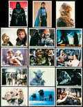 """Movie Posters:Science Fiction, The Empire Strikes Back (Topps, 1980). Very Fine. Photocard Set of30 & Photocards (2) (5"""" X 7""""). Science Fiction."""