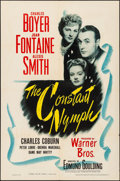 """Movie Posters:Drama, The Constant Nymph (Warner Brothers, 1943). Folded, Very Fine-. OneSheet (27"""" X 41""""). Drama.. ..."""