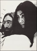 "Movie Posters:Rock and Roll, John Lennon and Yoko Ono (Poster Prints, 1969). Rolled, Very Fine. Poster (30"" X 42""). Rock and Roll.. ..."