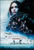 """Movie Posters:Science Fiction, Rogue One: A Star Wars Story (Walt Disney Studios, 2016). Rolled, Near Mint. IMAX Mini Poster (13"""" X 19"""") DS, Advance. Scien..."""