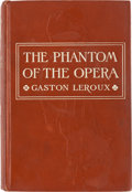 Books:First Editions, Gaston Leroux The Phantom of the Opera First American Edition (Bobbs-Merrill Co., 1911)....
