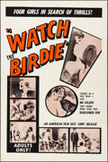 """Movie Posters:Adult, Watch the Birdie (American Film Distributing, 1965). Folded, Very Fine-. One Sheet (27"""" X 41""""). Adult.. ..."""