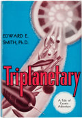 Books:First Editions, Edward E. Smith Triplanetary First Edition (Fantasy Press, 1948)....