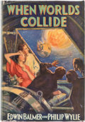 Books:First Editions, Edwin Balmer and Philip Wylie When Worlds Collide First Edition (Stokes, 1933)....