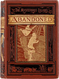 Books:First Editions, Jules Verne The Mysterious Island: Abandoned First American Edition (Scribner, Armstrong & Co., 1875)....
