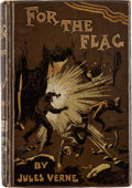 Books:First Editions, Jules Verne For the Flag Deluxe First British Edition (Sampson, Low & Co., 1897)....