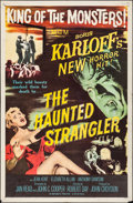 """Movie Posters:Horror, The Haunted Strangler (MGM, 1958). Folded, Very Fine-. One Sheet (27"""" X 41""""). Horror.. ..."""