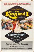 "Movie Posters:Musical, The King and I (20th Century Fox, 1956). Folded, Fine/Very Fine.One Sheet (27"" X 41""). Mitchell Hooks Artwork. Music..."