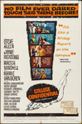 """Movie Posters:Drama, College Confidential & Other Lot (Universal International,1960). Folded, Fine/Very Fine. One Sheets (2) (27"""" X 41"""")...."""