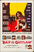 """Movie Posters:Western, Day of the Outlaw & Other Lot (United Artists, 1959). Folded,Very Fine-. One Sheets (2) (27"""" X 41""""). Western.. ......"""